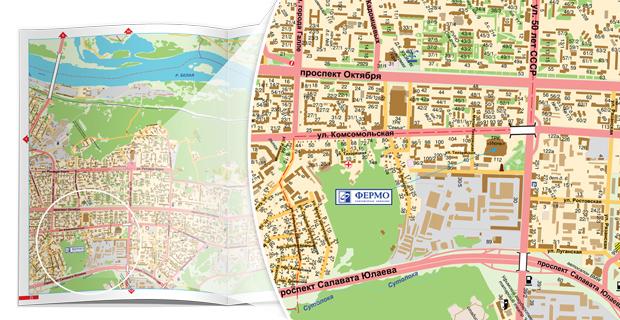 карта Нагаево, карта